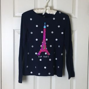 Gap Paris top (3/$20)